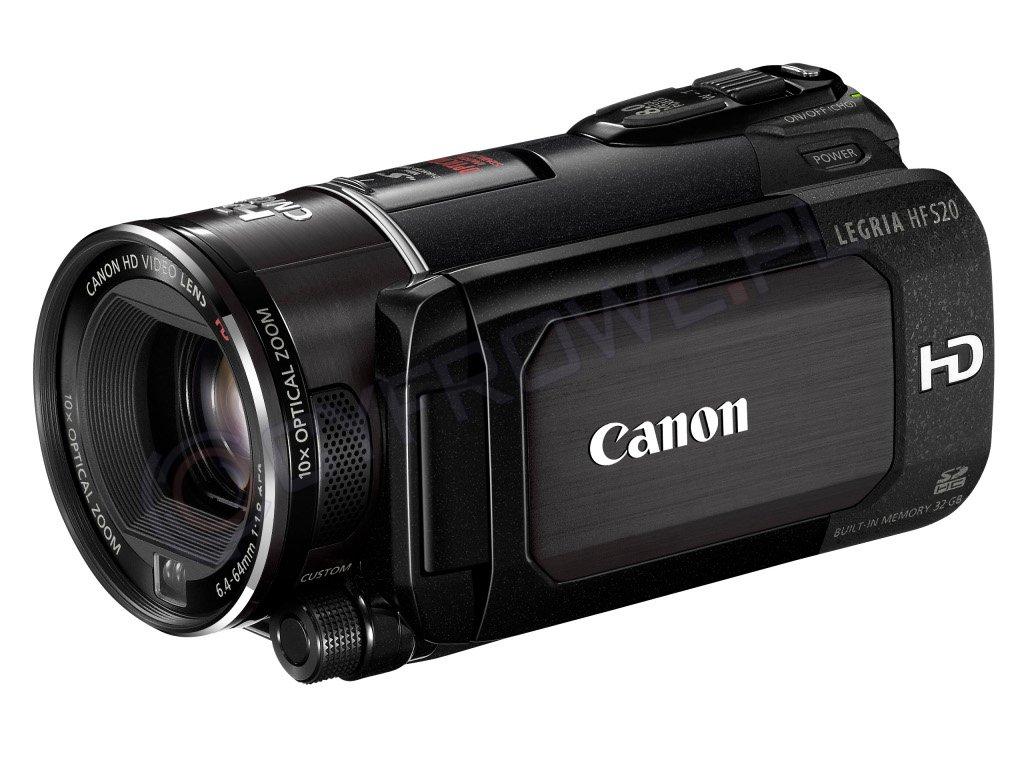 Kamera cyfrowa Canon LEGRIA HF S20 Produkt w archiwum