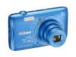 Nikon Coolpix S3700 niebieski z grafiką