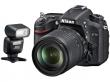 Nikon D7100 + ob.18-105 VR + lampa SB-500