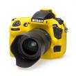 EasyCover  osłona gumowa dla Nikon D810 żółta