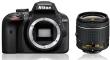 Nikon D3400 + ob. 18-55mm f/3.5-5.6G - CASHBACK 215 PLN