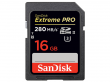 Sandisk EXTREME PRO SDHC 16 GB 280MB/s  UHS-II
