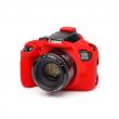EasyCover osłona gumowa dla Canon 1300D/T6 czerwona