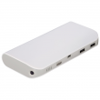 Hama POWER PACK (POWERBANK) 10400 mAh biały / szary