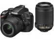 Nikon D3200 czarny + ob. 18-55 VRII + 55-200 VR