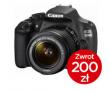 Canon EOS 1200D body + 18-55 IS II + CASHBACK 200zł