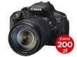 CanonEOS 700D + ob. 18-135 IS STM + CASHBACK 200zł