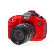 EasyCover osłona gumowa dla Canon 7D mark II czerwona