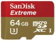 Sandisk microSDXC 64 GB Extreme 60MB/s C10 UHS-I + adaper SD + Rescue Pro Deluxe