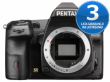 Pentax K-3 II czarny + ob. DA 16-85