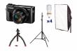 Canon PowerShot G7 X Mark II zestaw dla Youtubera - Cashback 170 zł + 100GB w serwisie Irista!