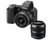 Nikon 1 V2 czarny + ob. 10-30 VR + 30-110 VR