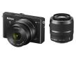 Nikon 1 J4 czarny + ob. 10-30 mm PD-ZOOM + 30-110