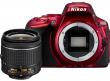 Nikon D5500 + AF-P 18-55 VR czerwony