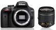 Nikon D3400 + ob. 18-55mm f/3.5-5.6G VR - CASHBACK 215 PLN