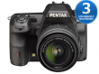 Pentax K-3 czarny + DAL 18-55 WR