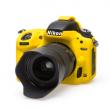 EasyCover  osłona gumowa dla Nikon D750 żółta