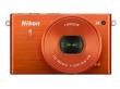 Nikon 1 J4 + ob. 10-30 mm PD-ZOOM pomarańczowy