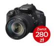 Canon EOS 700D + ob. 18-55 IS STM + CASHBACK 280zł