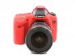EasyCover osłona gumowa dla Canon 70D czerwona