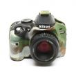 EasyCover osłona gumowa dla Nikon D3200 camouflage