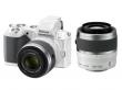 Nikon 1 V2 biały + ob. 10-30 VR + 30-110 VR