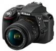 Nikon D3300 + AF-P 18-55 VR czarny