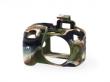 EasyCover osłona gumowa dla Nikon D3300/D3400 camouflage