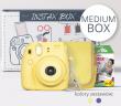 FujiFilm INSTAX MEDIUM BOX 2017 żółty