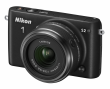 Nikon 1 S2 + ob. 11-27.5mm + ob. 30-110 czarny