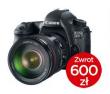 Canon EOS 6D + ob. 40 STM + CASHBACK 600PLN