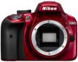 Nikon D3400 czerwony - CASHBACK 215 PLN