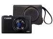 Canon PowerShot S120 czarny + pokrowiec DCC-1920