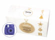 FujiFilm BOX Instax Mini 8S fioletowy + papier Mini Glossy 10x2 + album