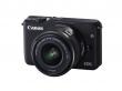 Canon EOS M10 + ob. 15-45 IS STM czarny