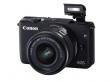 Aparat cyfrowy Canon EOS M10 + ob. 15-45 IS STM czarny