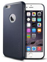 Spigen SGP etui Leather Fit Apple iPhone 6+/6s+ niebieski