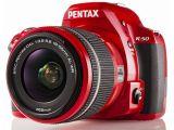 Pentax K-50 + ob. DAL 18-55 WR + 50-200 WR czerwony