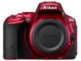 Nikon D5500 czerwony body