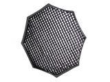 Funsports plaster miodu grid ośmiokątny 120cm mocowany do softboxów Powerlux rzep