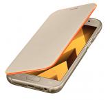Samsung Neon Flip Cover do Galaxy A3 (2017) złoty