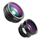 Aukey PL-A6 obiektywy 3w1 (fisheye, macro, wide)