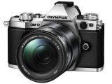 Olympus OM-D E-M5 MK II srebrny + ob. 14-150 czarny
