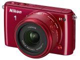 Nikon 1 S1 + ob. 11-27.5mm czerwony