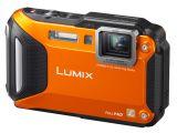 Panasonic Lumix DMC-FT6 pomarańczowy
