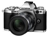 Olympus OM-D E-M5 MK II srebrny + ob. 12-50 czarny