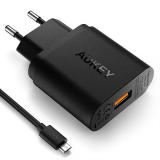 Aukey Ładowarka sieciowa PA-U28 1x USB QC 2.0