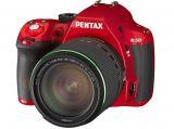 Pentax K-50 + ob. DA 18-135 WR czerwony