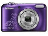 Nikon Coolpix L29 fioletowy z wzorem + pokrowiec Nikon ALM230101