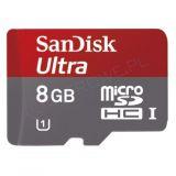Sandisk microSDHC I 8 GB Ultra class 10